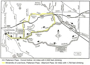 Livermore-Patterson Pass, 2 Loops